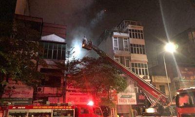 Cháy cửa hàng đồ sơ sinh ở Hà Nội, 4 người thiệt mạng