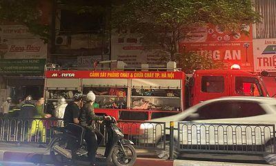 Vụ cháy kinh hoàng tại phố Tôn Đức Thắng: Một người tử vong là sản phụ đang mang thai 3 tháng