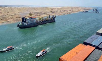 Giải tỏa hoàn toàn tình trạng ùn tắc giao thông tại kênh đào Suez