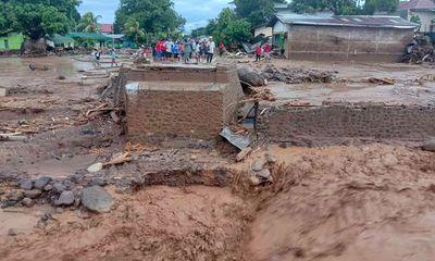 Ít nhất 87 người thiệt mạng do lũ lụt và lở đất tại Indonesia và Đông Timor