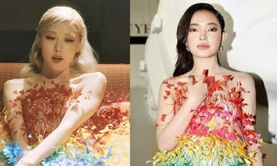 Tin tức giải trí mới nhất ngày 5/4: Rosé - BlackPink mặc váy giống Châu Bùi