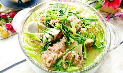 Bí quyết nấu canh khoai sọ rau rút ngon bổ dưỡng cho ngày hè