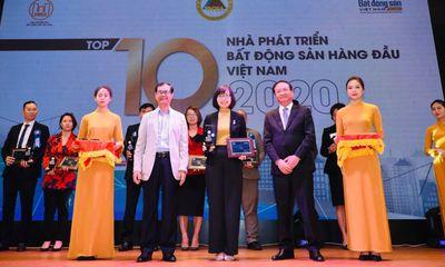 Tập đoàn CEO được vinh danh Top 10 nhà phát triển bất động sản hàng đầu Việt Nam 2020