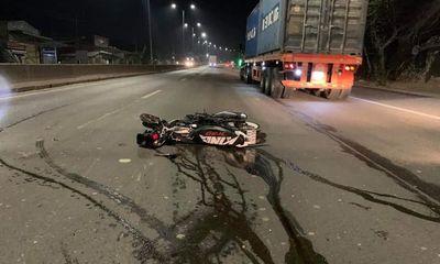 Tai nạn kinh hoàng trên quốc lộ, đôi nam nữ tử vong thương tâm
