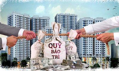 Sửa quy định quản lý kinh phí bảo trì nhà chung cư, quy trách nhiệm chủ đầu tư - Bài 1: Về quản lý kinh phí bảo trì nhà chung cư