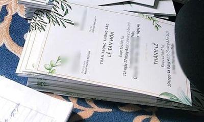 Tin tức giải trí mới nhất ngày 9/4: Lộ diện thiệp cưới của Phan Mạnh Quỳnh và bạn gái sau khi chơi trò