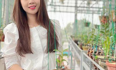 Xã hội - Nghệ nhân Lê Hải Yến cùng niềm đam mê trồng lan