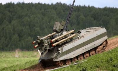 Tin tức quân sự mới nhất ngày 10/4: Quân đội Nga thành lập đơn vị robot tấn công