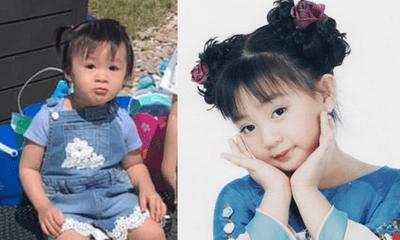 """Dân tình """"phát sốt"""" trước hình ảnh con gái Xuân Mai: Xinh như thiên thần, giống y hệt mẹ"""