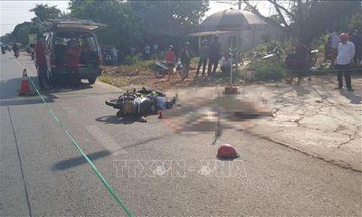 Tin tai nạn giao thông ngày 14/4/2020: Đâm trực diện hông xe tải, 2 người chết