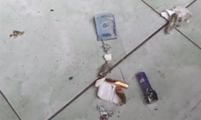 Hải Phòng: Bao thuốc lá lạ gắn kèm tờ tiền phát nổ, một người bị thương