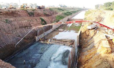 Dự án trọng điểm cải tạo sông Tích 7.000 tỷ đồng bị đình trệ