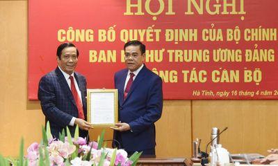 Ông Võ Trọng Hải được bầu làm Chủ tịch UBND tỉnh Hà Tĩnh