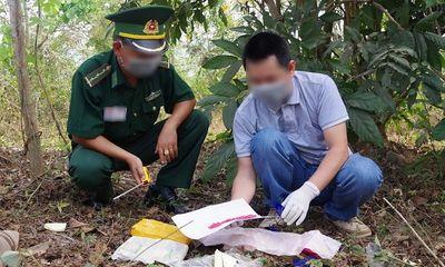 Quảng Trị: Hai đối tượng vứt lại túi xách có 12.000 viên ma túy để bỏ chạy