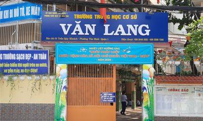 """TP.HCM: Nhiều nguồn tiền """"lạm thu"""" tại trường THCS Văn Lang"""