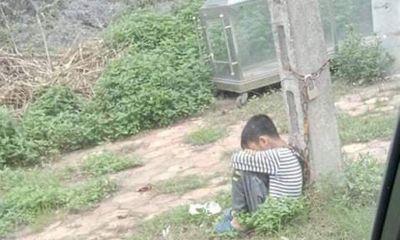 Vụ bé trai 10 tuổi bị xích cổ vào cột điện ven đường: Người cha hé lộ nguyên nhân