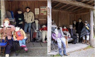 Ngôi làng rùng rợn có tới 300 búp bê hình người, tiết lộ lý do