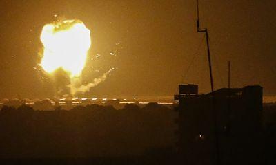 Video: Israel không kích Dải Gaza, trả đũa vụ bị bắn rocket