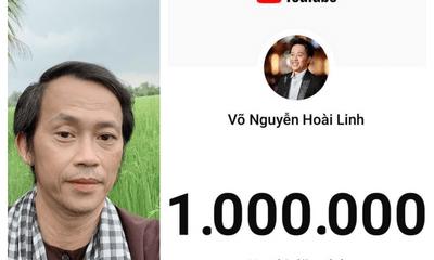 NSƯT Hoài Linh đạt nút vàng Youtube chỉ sau 3 tháng khiến người hâm mộ trầm trồ
