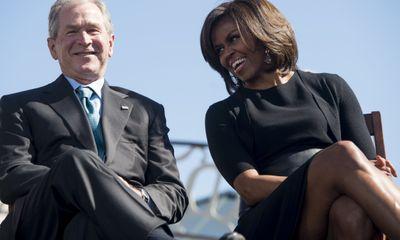 Cựu Tổng thống Bush chia sẻ về tình bạn đặc biệt với bà Michelle Obama