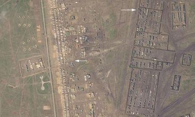 Hé lộ căn cứ quân sự 'khủng' của Nga tập kết tới 1.000 xe quân sự