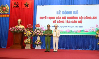 Chân dung Giám đốc Công an tỉnh Bắc Ninh vừa được bổ nhiệm