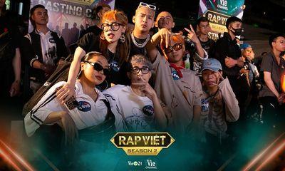 Rap Việt - mùa 2: Loạt rapper Hà Nội đình đám hội ngộ trong ngày đầu casting ở miền Bắc