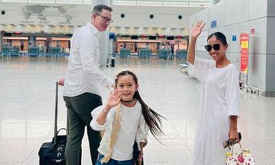 Tin tức giải trí mới nhất ngày 22/4: Ca sĩ Đoan Trang theo chồng Tây ra nước ngoài sinh sống