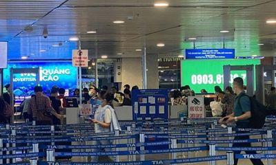 Sân bay Tân Sân Nhất lắp thêm 5 máy soi an ninh, giải tỏa ùn tắc nhà ga quốc nội
