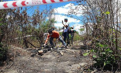 Vụ phát hiện thi thể cháy trơ xương trên đồi cát ở Bình Thuận: Chưa xác định được giới tính