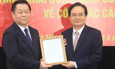 Chân dung tân Phó Trưởng Ban Tuyên giáo Trung ương Phùng Xuân Nhạ