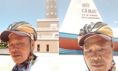 Đạp xe xuyên Việt, người đàn ông 65 tuổi khơi nguồn đam mê, truyền nghị lực tới thế hệ trẻ