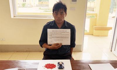 Bắt giữ người đàn ông tàng trữ trái phép chất ma túy ở Điện Biên