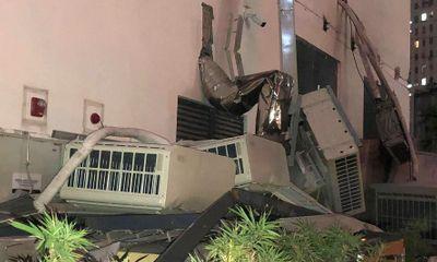 Vụ sập giàn điều hòa tại chung cư ở Hà Nội: Hé lộ nguyên nhân ban đầu