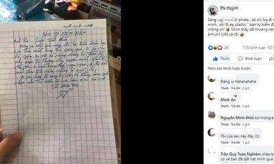 Tin tức đời sống ngày 30/4: Chồng viết hẳn bản kiểm điểm xin lỗi vợ làm dân mạng cười ngất