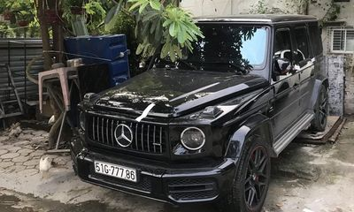 Công an điều tra vụ siêu xe Mercedes G63 đeo biển giả lưu thông trên phố Hà Nội