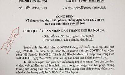 Hà Nội dừng hoạt động quán karaoke, bar, vũ trường từ 0h ngày 30/4 sau khi ghi nhận 1 ca mắc COVID-19
