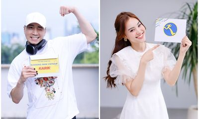 Karik và Ninh Dương Lan Ngọc nhận được thư mời từ Running Man Vietnam