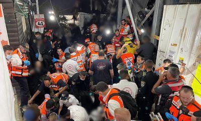 Thảm hoạ giẫm đạp tại lễ hội ở Israel, hàng chục người thiệt mạng