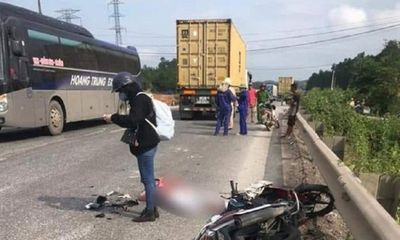 Tin tai nạn giao thông ngày 1/5/2021: Về quê nghỉ lễ, cô gái bị xe đầu kéo tông tử vong