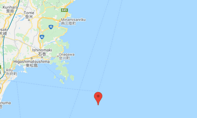 Động đất cường độ 6,6 rung chuyển miền Bắc Nhật Bản, chưa có cảnh báo sóng thần