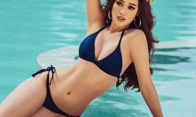 Hoa hậu Khánh Vân diện bikini nổi bật khoe đường cong