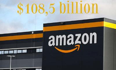 Lợi nhuận Amazon tăng vọt hơn 200% trong quý đầu tiên