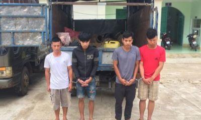 Kon Tum: Mật phục, bắt giữ nhóm người đập phá mộ để lấy tài sản