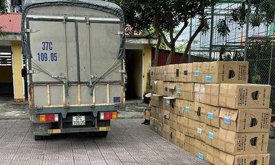 Hà Tĩnh: Bắt giữ xe hàng chở 122.500 khẩu trang không rõ xuất xứ