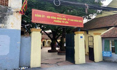 Xã hội - Phường Tứ Liên - Tây Hồ - Hà Nội: Hàng loạt công trình xây dựng trái phép trên đất nông nghiệp