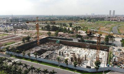Xây hơn 6.000m2 không phép giữa thủ đô, chủ đầu tư An Lạc Green Symphony bị phạt 40 triệu đồng