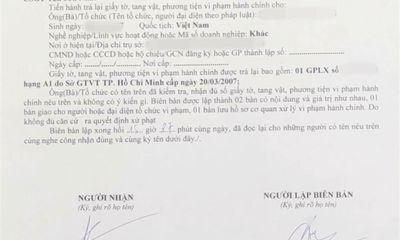 Diễn biến bất ngờ vụ CSGT Tân Sơn Nhất
