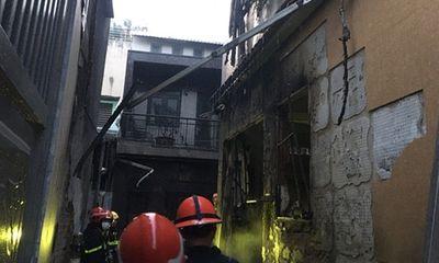 Cận cảnh hiện trường vụ cháy nhà ở TP.HCM làm 8 người tử vong
