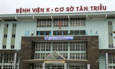 Ghi nhận 10 trường hợp nghi mắc COVID-19, phong tỏa bệnh viện K
